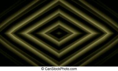 golden rhombic metal background.