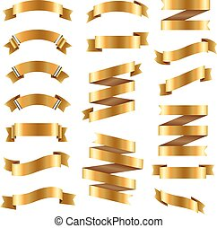 Golden Ribbon Big Set