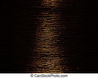 Golden river of light, background