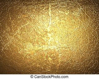 Golden rough grainy background