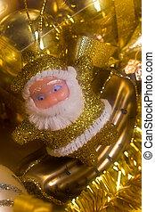 Golden Santa