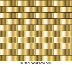 Gold gradient pattern - Golden seamless background in the...