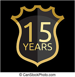 Golden shield 15 years
