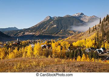 Golden Silverton - Autumn in Silverton, Colorado