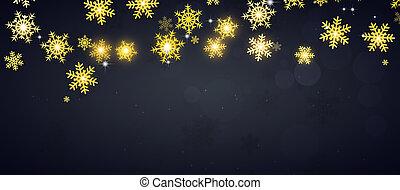 golden snow banner