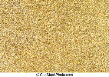 Golden sparkling background from small sequins.