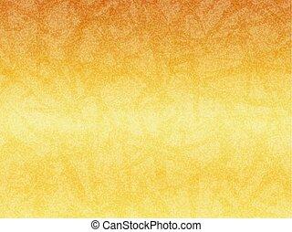 Golden sparkling japanese paper background