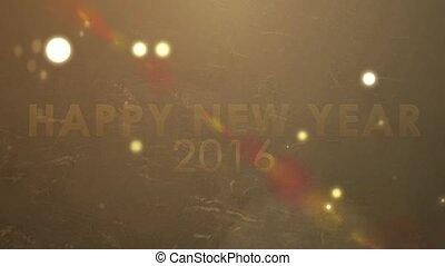 golden sparkling new year 2016 - golden explosion sparkling,...