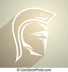 golden spartan symbol