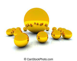 Golden Spheres 3