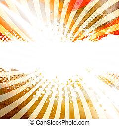 Golden Splatter Layout