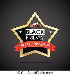 Golden Star Black Friday