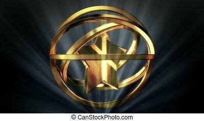 Golden Star in Rotor Shine