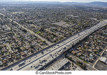 Golden State 5 Freeway in the San Fernando Valley