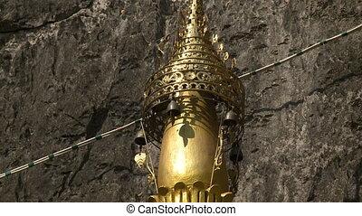 Golden Statue Top