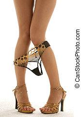 golden - beautiful legs with panties