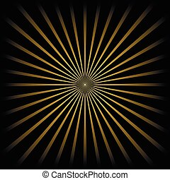 Golden striped background