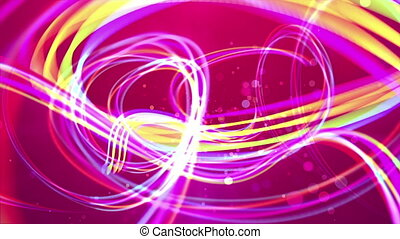 """""""Golden strokes in the purple background"""" - """"A luxurious 3d..."""