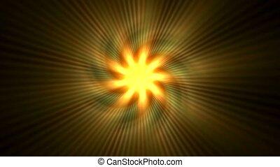 golden sunlight,rotation sawtooth