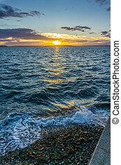 Golden Sunset Scene 4