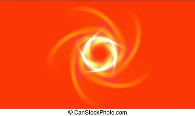 golden swirl laser light,tunnel