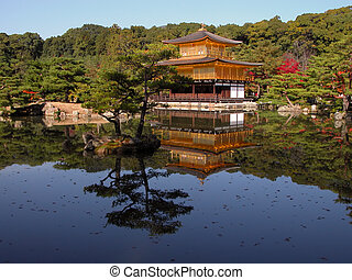 Golden temple - One of the most famous Japanese...