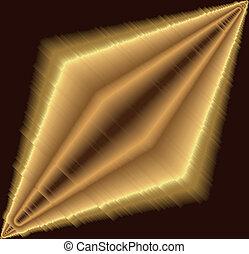Golden texture metallic background