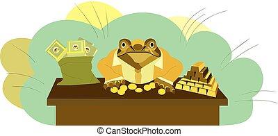 golden toad.eps