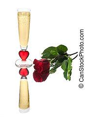 Golden Valentine Flute