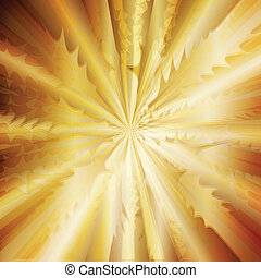 Golden vector abstract background concept