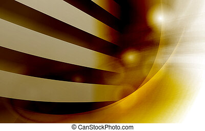 golden vector background