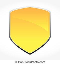 Golden Vector Shield