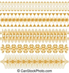 Golden vector trim collection