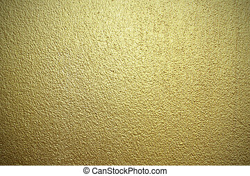 Golden wall background texture