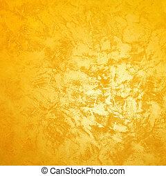 Golden wall