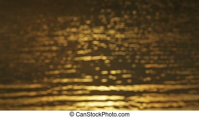Golden water light