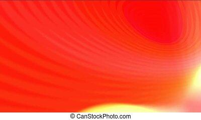 golden wave lights, sunlight, fire