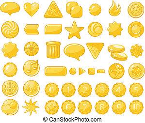 Golden web objects