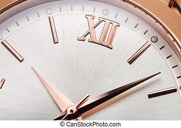 Golden womens wrist watches