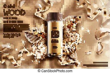 golden wood essence ad