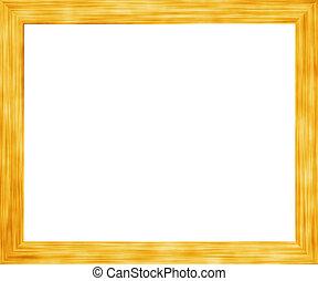 Golden Wooden Frame