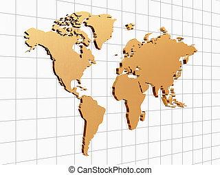 golden world