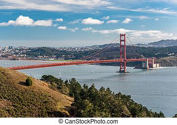 goldene torbrücke, san francisco, kalifornien