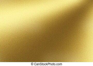 goldene wand, abstrakt, metall, beschaffenheit, funkeln, hintergrund