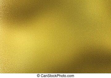 goldene wand, abstrakt, metall, beschaffenheit, hintergrund, kratzer
