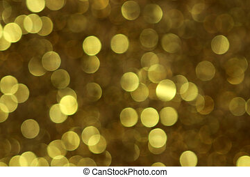 goldenes, blinken, licht