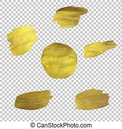 goldenes, blots, satz
