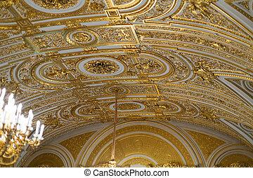 goldenes, ceiling..