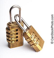 goldenes, code, verwandt, meister, schlüssel, paar