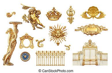 goldenes, detail